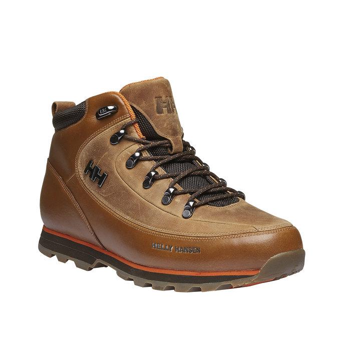 Kožené zimní boty ke kotníkům helly-hansen, hnědá, 894-3032 - 13