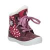 Dívčí zimní obuv s kožíškem bubblegummer, červená, 199-5600 - 13