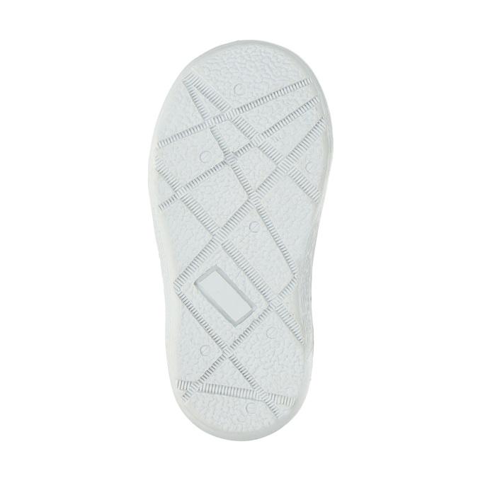 Dětská zimní obuv se srdíčky bubblegummer, šedá, 199-2600 - 26