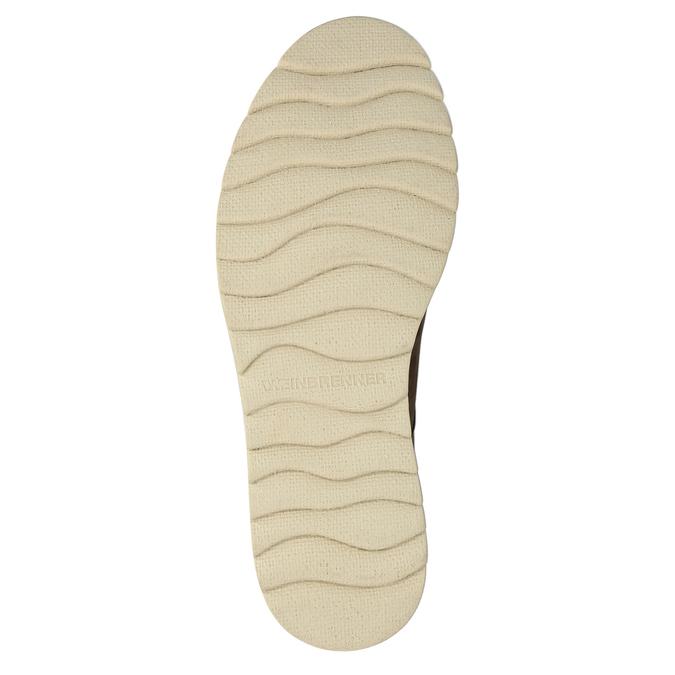 Pánské kožené chukka boots weinbrenner, hnědá, 846-4629 - 26