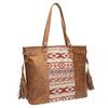 Dámská kabelka v Etno stylu bata, hnědá, 961-3669 - 13