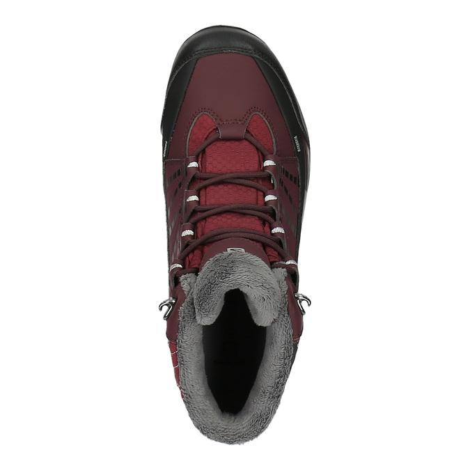 Dámská zimní obuv v Outdoor stylu salomon, červená, 691-5050 - 19