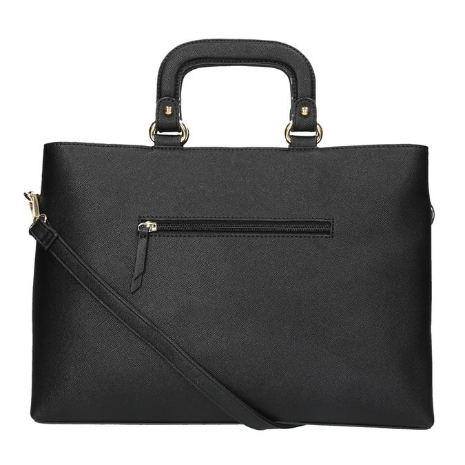 Dámská kabelka do ruky bata, černá, 961-6627 - 26