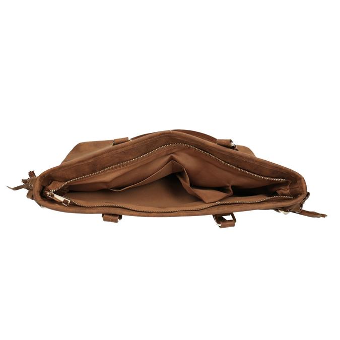 Dámská kabelka v Etno stylu bata, hnědá, 961-3669 - 15