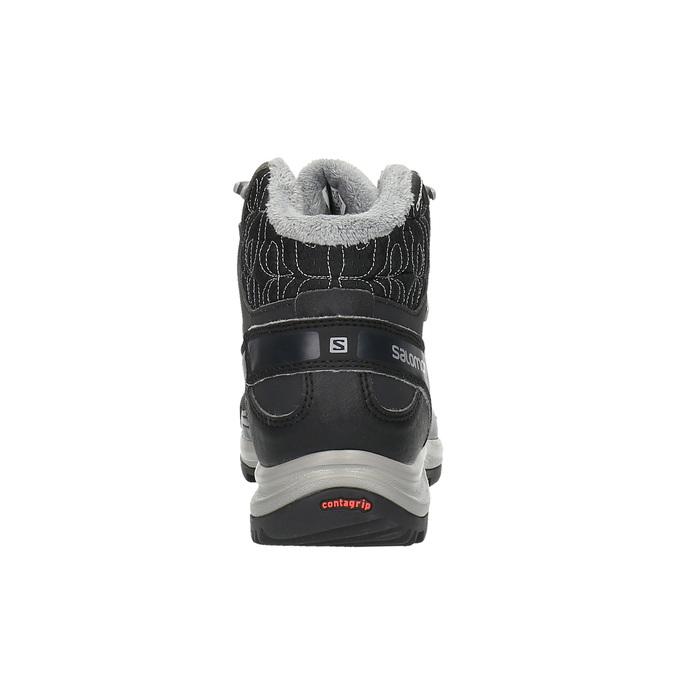 Dámská zimní obuv v Outdoor stylu salomon, černá, 691-6050 - 17