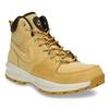 Pánská kožená kotníčková obuv nike, žlutá, 806-8435 - 13