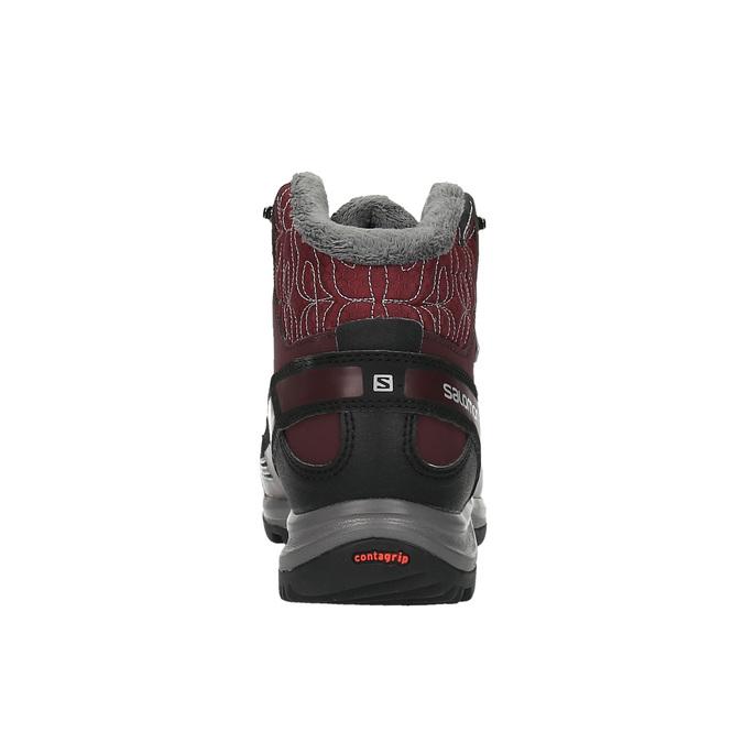 Dámská zimní obuv v Outdoor stylu salomon, červená, 691-5050 - 17