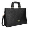 Dámská kabelka do ruky bata, černá, 961-6627 - 13