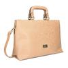 Dámská kabelka do ruky bata, béžová, 961-8627 - 13