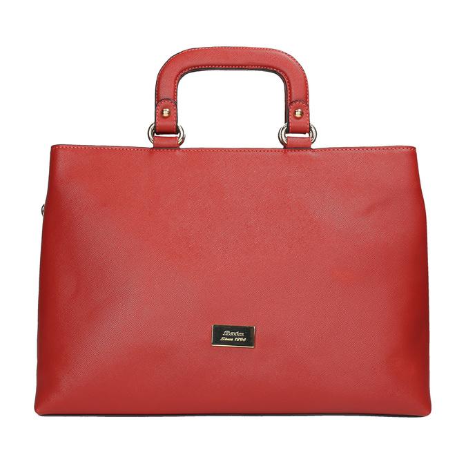 Červená dámská kabelka bata, červená, 961-5627 - 19