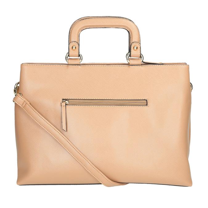 Dámská kabelka do ruky bata, béžová, 961-8627 - 26