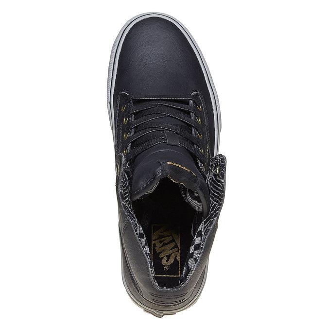 Pánské kotníčkové tenisky Vans vans, černá, 809-6310 - 19