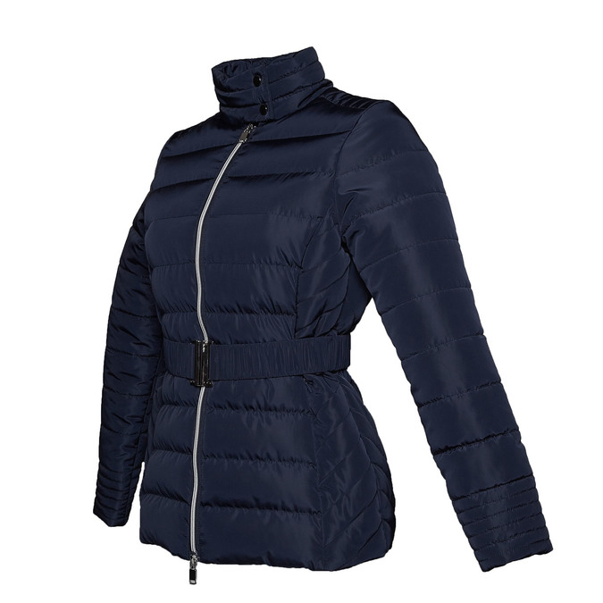 Dámská bunda se sponou bata, modrá, 979-9640 - 16