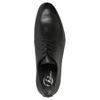 Pánské kožené polobotky černé bata, černá, 824-6711 - 19