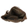 Dámská kožená kabelka bata, hnědá, 966-8200 - 15