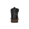 Kožená kotníčková obuv pánská bata, černá, 894-6660 - 17