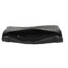 Černé kožené psaníčko s popruhem bata, černá, 964-6210 - 15