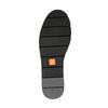 Dámské kožené Slip-on s obšitím flexible, černá, 514-6257 - 26