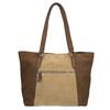 Dámská kožená kabelka bata, hnědá, 966-8200 - 26