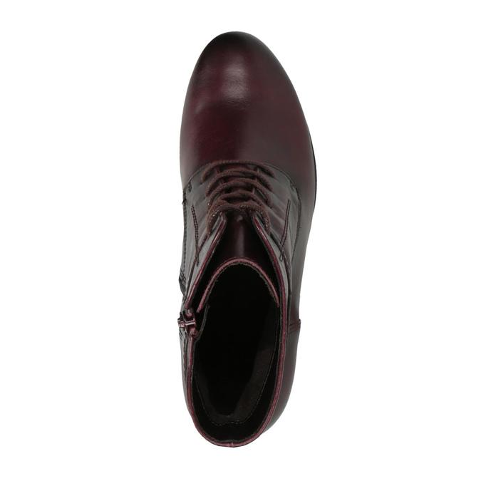 Dámská kotníčková obuv gabor, červená, 694-5262 - 19