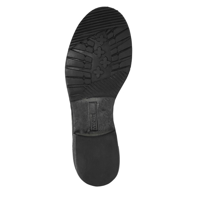 Kožená zimní obuv s kožíškem manas, šedá, 596-2601 - 26