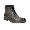 Pánská kožená obuv bata, šedá, 894-2650 - 13