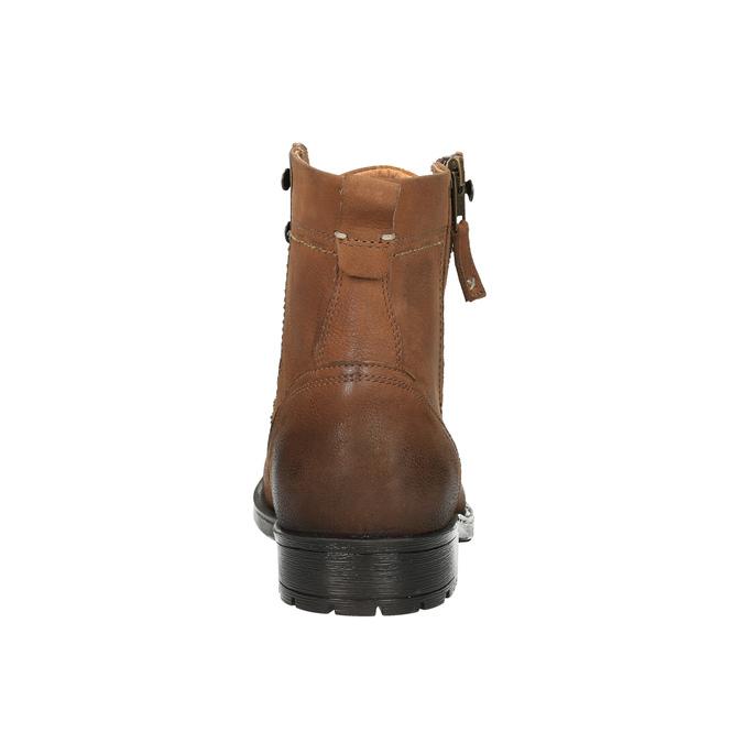 Pánská obuv v Ombré stylu bata, hnědá, 896-3649 - 17