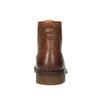 Kotníčková obuv v Ombré stylu bata, hnědá, 896-3647 - 17