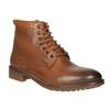 Kotníčková obuv v Ombré stylu bata, hnědá, 896-3647 - 13