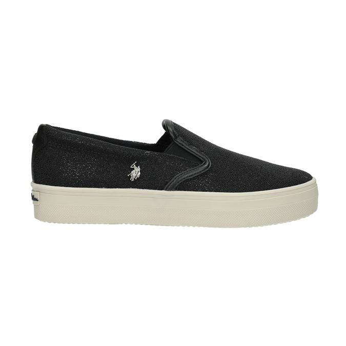 Dámská obuv ve stylu Slip-on u-s-polo-assn-, černá, 511-6070 - 15