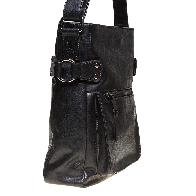 Pánská Crossbody taška bata, černá, 961-6266 - 17