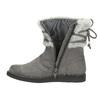 Dětská obuv s kožíškem mini-b, šedá, 399-2247 - 19