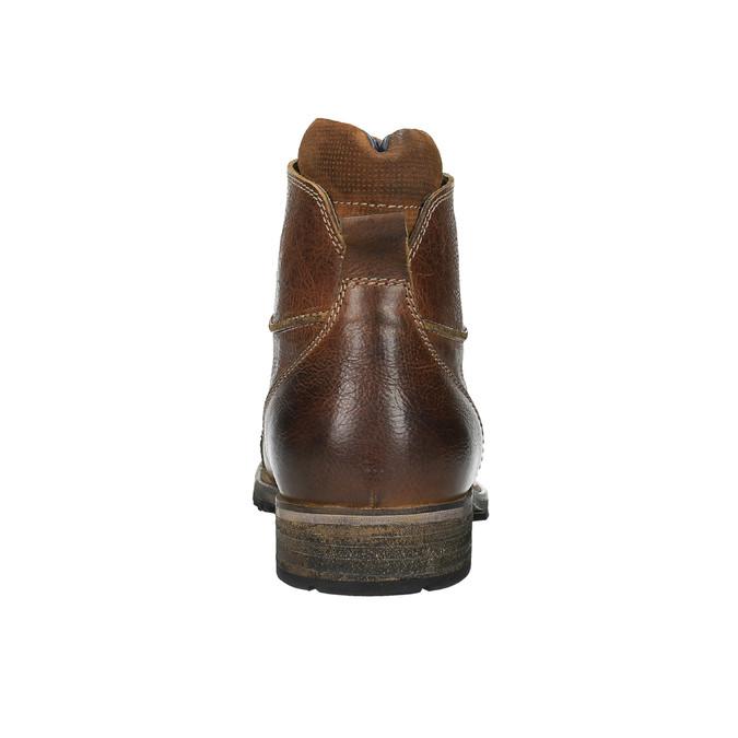 Kožená pánská obuv bata, hnědá, 894-3650 - 17