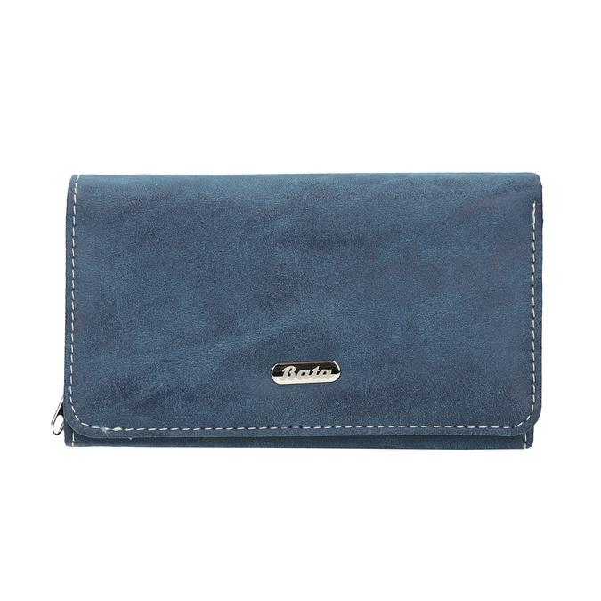 Dámská modrá peněženka bata, modrá, 941-9153 - 26