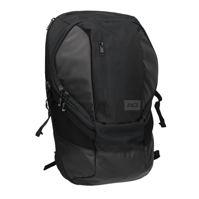 Černý ležérní batoh aevor, černá, 969-6060 - 13