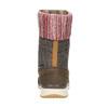 Dámská zimní obuv salomon, hnědá, 693-4050 - 17