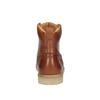 Kožená kotníčková obuv pánská bata, hnědá, 896-3652 - 17