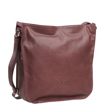 Kožená kabelka elega, červená, 964-5170 - 13