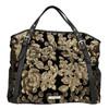 Dámská kabelka s flitry cafe-noir, černá, 961-6012 - 26