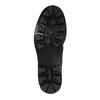 Pánská kožená obuv na výrazné podešvi bata, černá, 844-6628 - 26