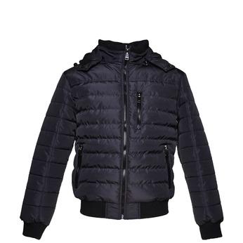 Prošívaná pánská bunda se zipy bata, modrá, 979-2632 - 13