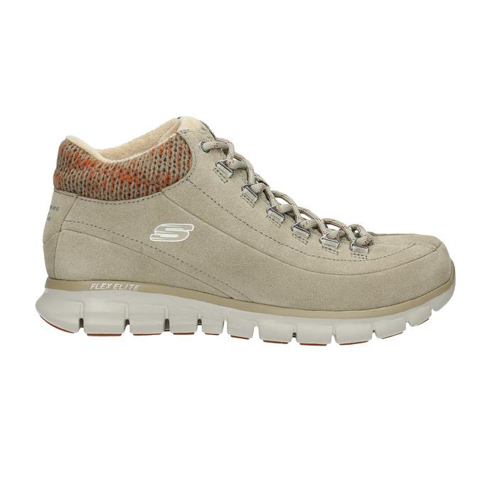 Dámská zimní obuv sportovní skechers, béžová, 503-3357 - 15