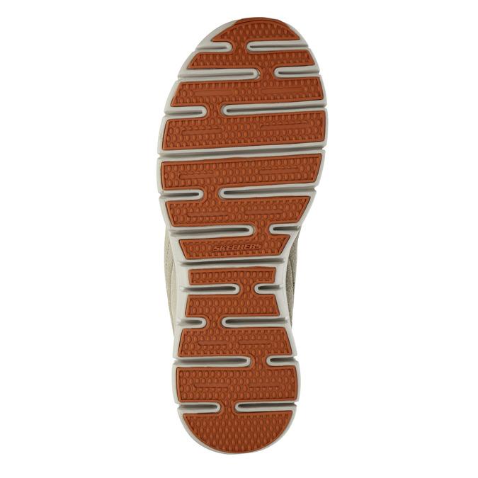 Dámská zimní obuv sportovní skecher, béžová, 503-3357 - 26