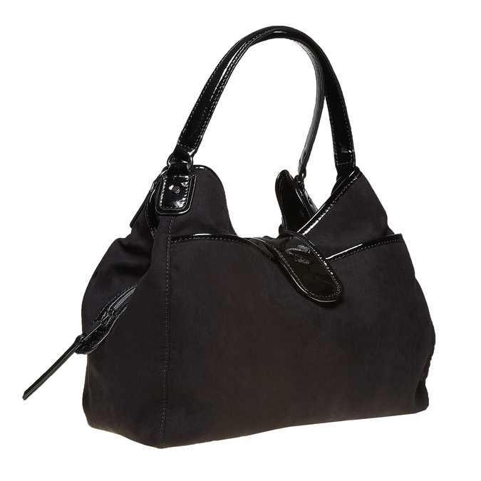 Elegantní dámská kabelka bata, černá, 969-6209 - 13