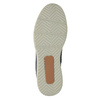 Kožená kotníčková obuv na ležérní podešvi bata, modrá, 894-2660 - 26