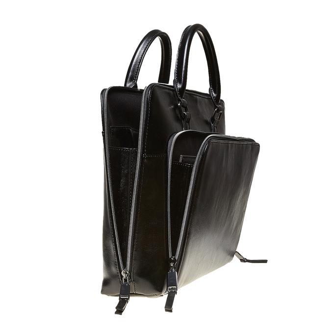 Elegantní taška do ruky bata, černá, 961-6882 - 17