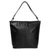 Kožená kabelka v Hobo stylu bata, černá, 964-6216 - 26