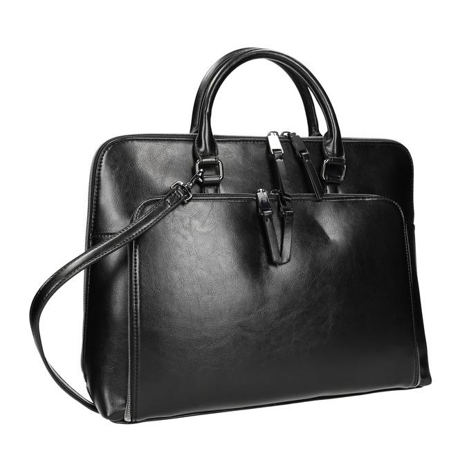 Elegantní taška do ruky bata, černá, 961-6882 - 13