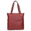 Červená kožená kabelka bata, červená, 964-5213 - 19