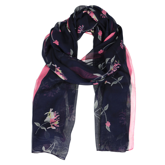 Šátek s potiskem květin joules, modrá, 929-9004 - 13